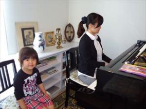 親子でピアノ
